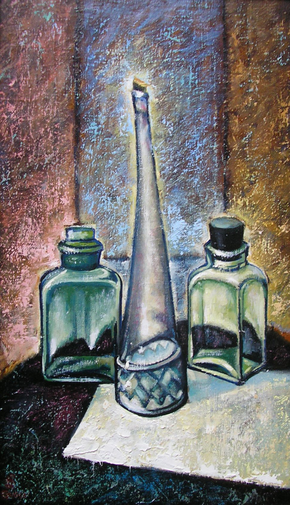 three bottles_35x60_2005